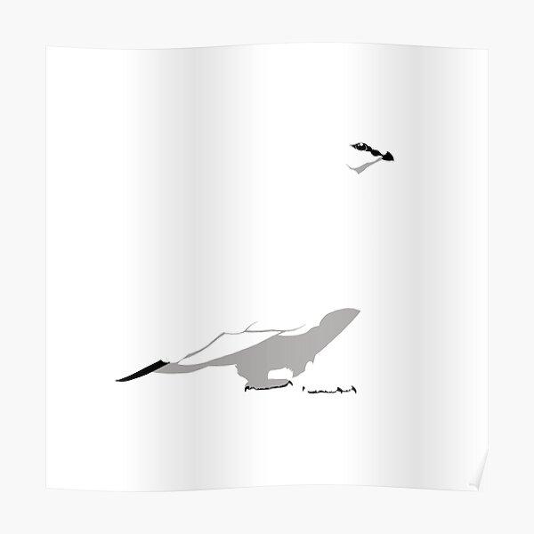 Rock Ptarmigan - winter Poster