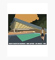 Goldstein House John Lautner Architecture Tshirt Photographic Print