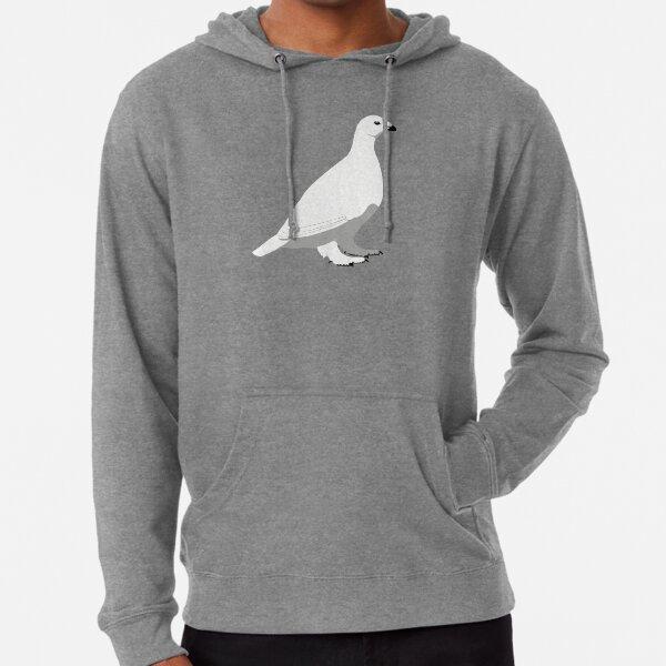 White-tailed Ptarmigan - winter Lightweight Hoodie