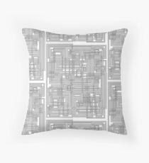 Tangled Pipe Design Floor Pillow