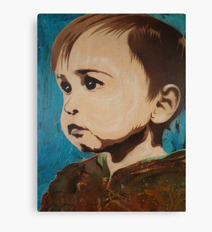 Portrait of an Artist as a Young Boy Canvas Print