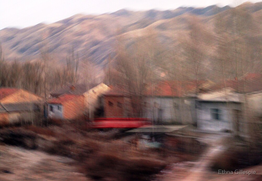 From the Train Window (2)  by Ethna Gillespie