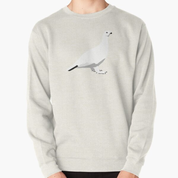 Willow Ptarmigan - winter Pullover Sweatshirt