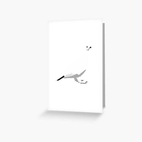 Willow Ptarmigan - winter Greeting Card