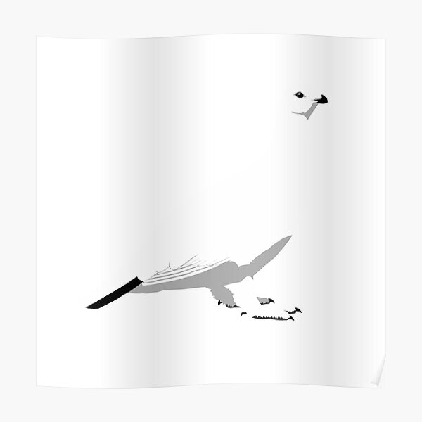 Willow Ptarmigan - winter Poster