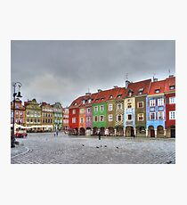 Colourful houses Photographic Print