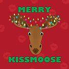 Merry Kissmoose! by PegOHagan