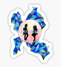 JAI WOLF KINDRED SPIRITS STICKER Sticker
