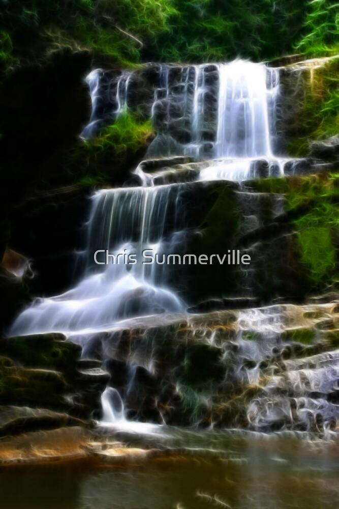 Little Bradley Falls by Chris Summerville
