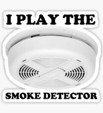 Blues Smoke Detector Nathan For You Sticker
