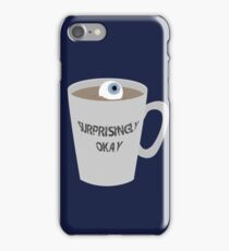Sherlock - Surprisingly Okay iPhone Case/Skin