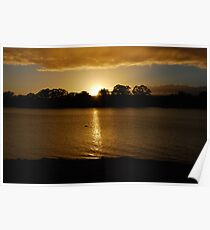 Sunrise - Mannum - South Australia Poster