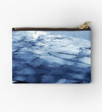 Ice Floes on the Havel, Berlin  Studio Pouch