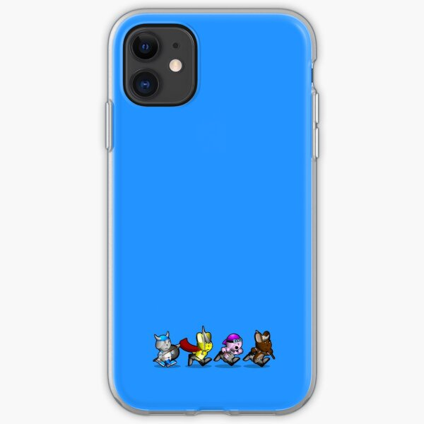 Running Bunnies iPhone Soft Case