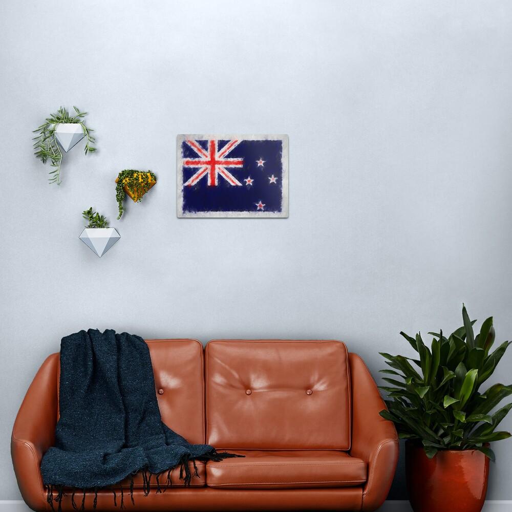 New Zealand Flag No. 66, Series 4 Metal Print