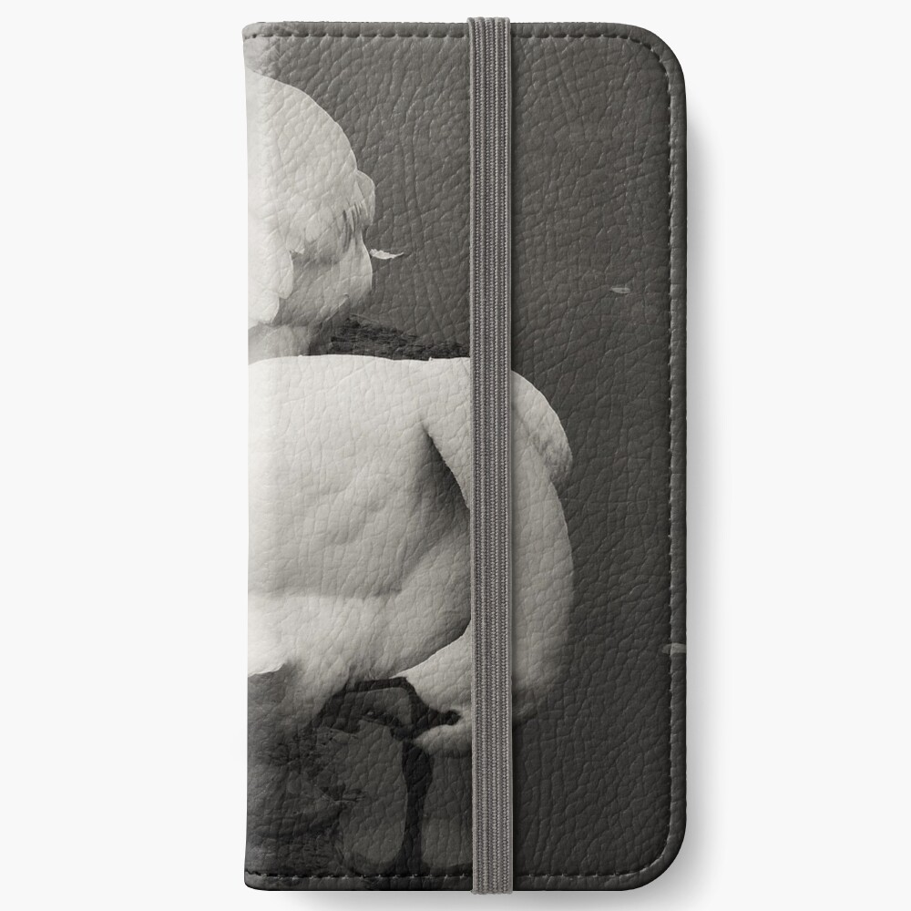 Ohne Titel iPhone Flip-Case