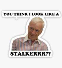 Nathan For You Stalker Bill Sticker