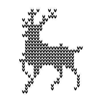 Xmas reindeer by Marcargrafico