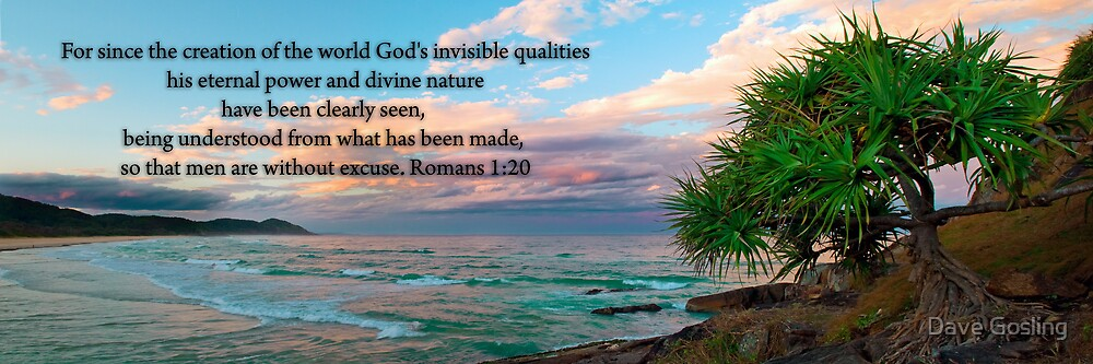 Image result for Romans 1:20