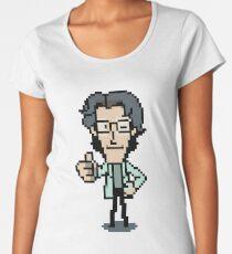 Otacon Thumbs-Up Women's Premium T-Shirt