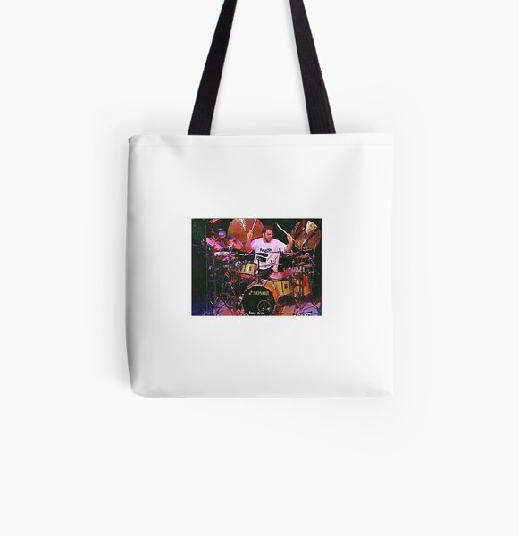 Tony DuPuis Drums 2 All Over Print Tote Bag