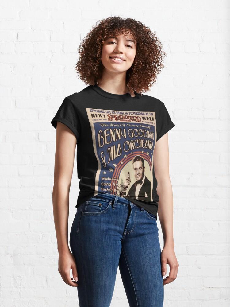 Alternate view of Benny Goodman Classic T-Shirt
