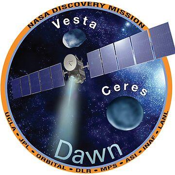 Dawn Mission Logo by Spacestuffplus