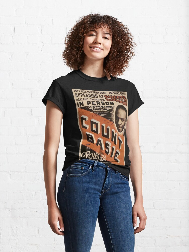 Alternate view of Count Basie Classic T-Shirt