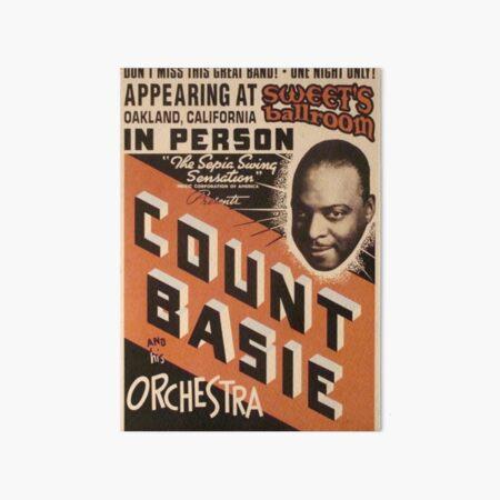 Count Basie Art Board Print