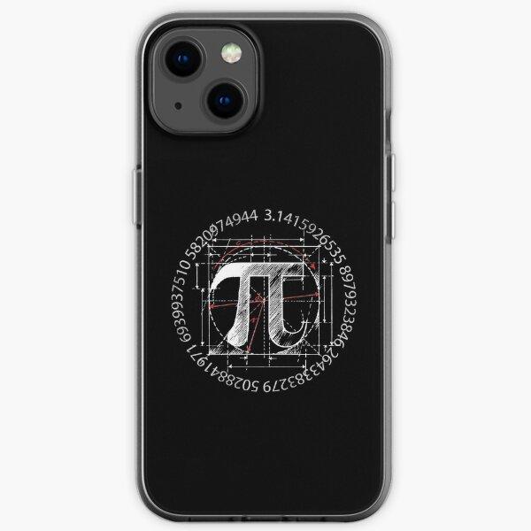 Pi Symbol Sketch iPhone Soft Case