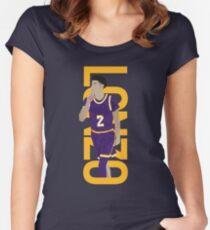 LONZO MANIA PURPLE RUSH Women's Fitted Scoop T-Shirt
