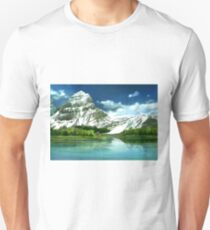 Cold mountains matte painting Unisex T-Shirt