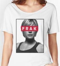 Starbuck - Frak - Battlestar Galactica Women's Relaxed Fit T-Shirt