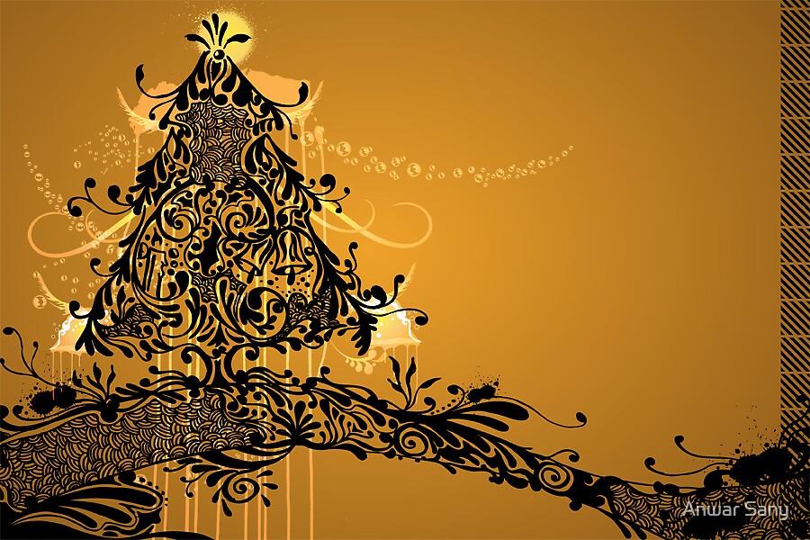 Christmas tree by Anwar Sany