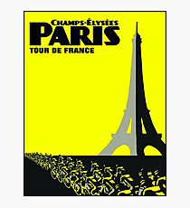 TOUR DE FRANCE: Paris Advertising Print Photographic Print