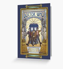 Doctor who greeting cards redbubble all of time and space greeting card m4hsunfo