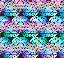 Tie Dye Diamond by Keelin  Small