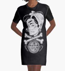 Zombie Roller Derby Girls Graphic T-Shirt Dress