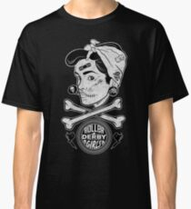Zombie Roller Derby Girls Classic T-Shirt