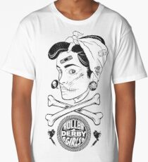 Zombie Roller Derby Girls Long T-Shirt