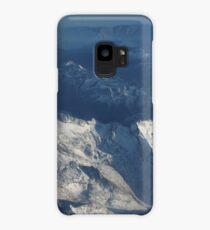 Bird's Eye Alps Mountains Case/Skin for Samsung Galaxy