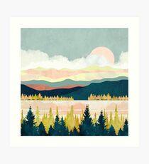 See Wald Kunstdruck