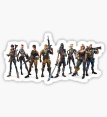 Fortnite Characters Sticker