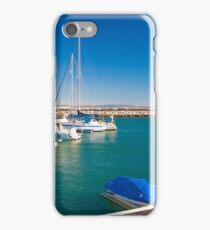 marina de oeiras iPhone Case/Skin