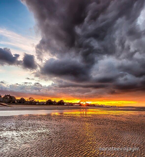 Black Gold Sunset by manateevoyager