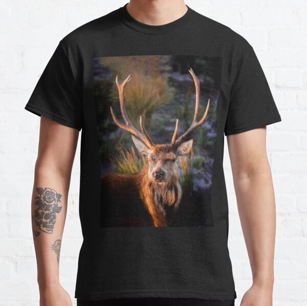golden stag.... by Phil Darby Classic T-Shirt