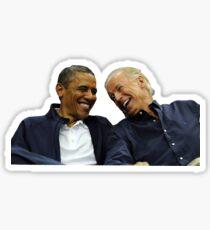 Joe + Obama Sticker