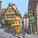 Rothenburg by Patricia Bolgosano