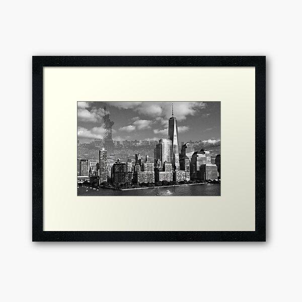 New York Freedom Framed Art Print