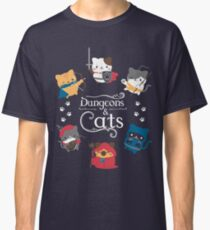 Dungeons and Cats Classic T-Shirt